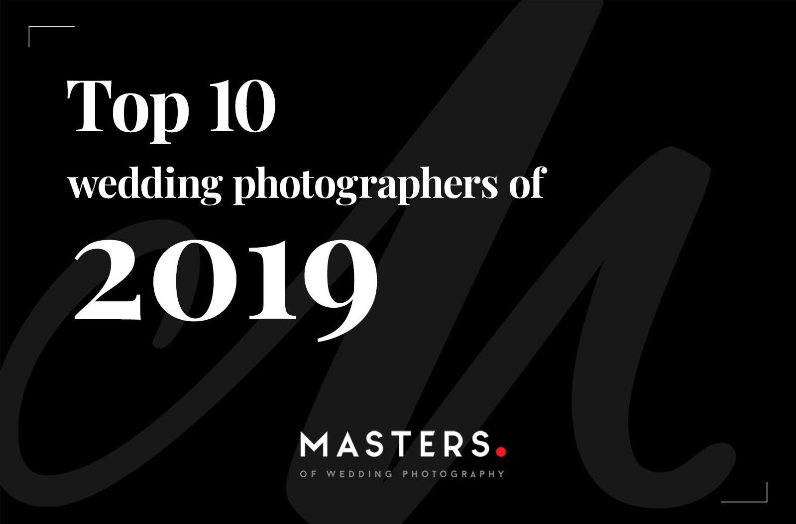Top 10 trouwfotografen van 2019