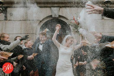 Just married – Winterwedding