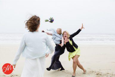 De strijd om het bruidsboeket