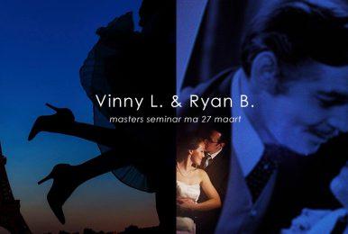 Masters Meetup & Seminars 27 maart; Vinny Labella & Ryan Brenizer