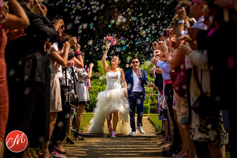 Kleurrijk getrouwd